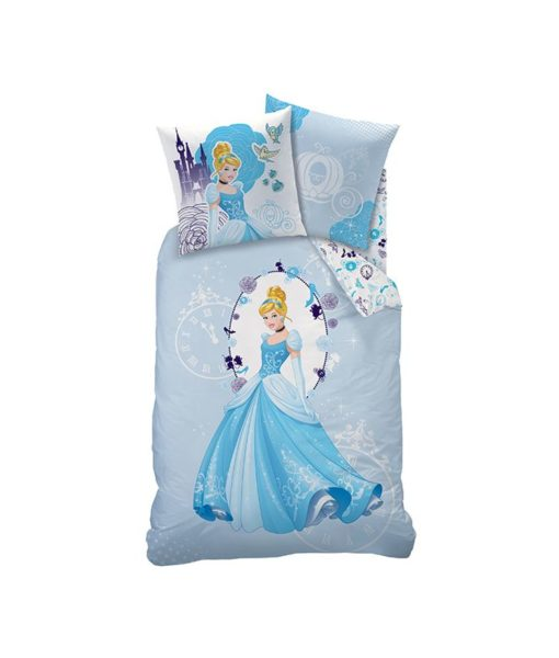 Housse de couette Princesses Disney Dreaming Love 140x200 cm