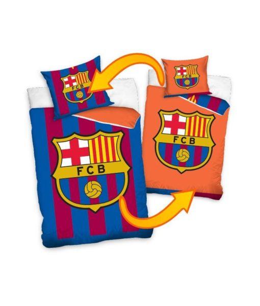Housse de couette réversible FC Barcelone 140x200 cm