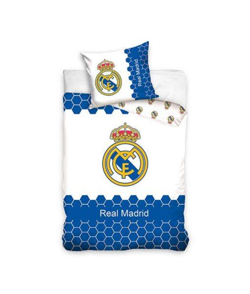 Parure de lit Real Madrid Stripes 100% coton