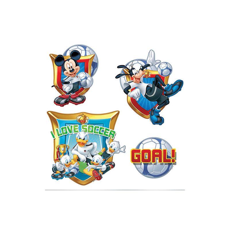 Stickers muraux foot mickey donald et dingo - Donald et dingo ...