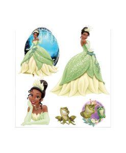 Stickers muraux Princesse - La Petite Sirène 30x40 cm