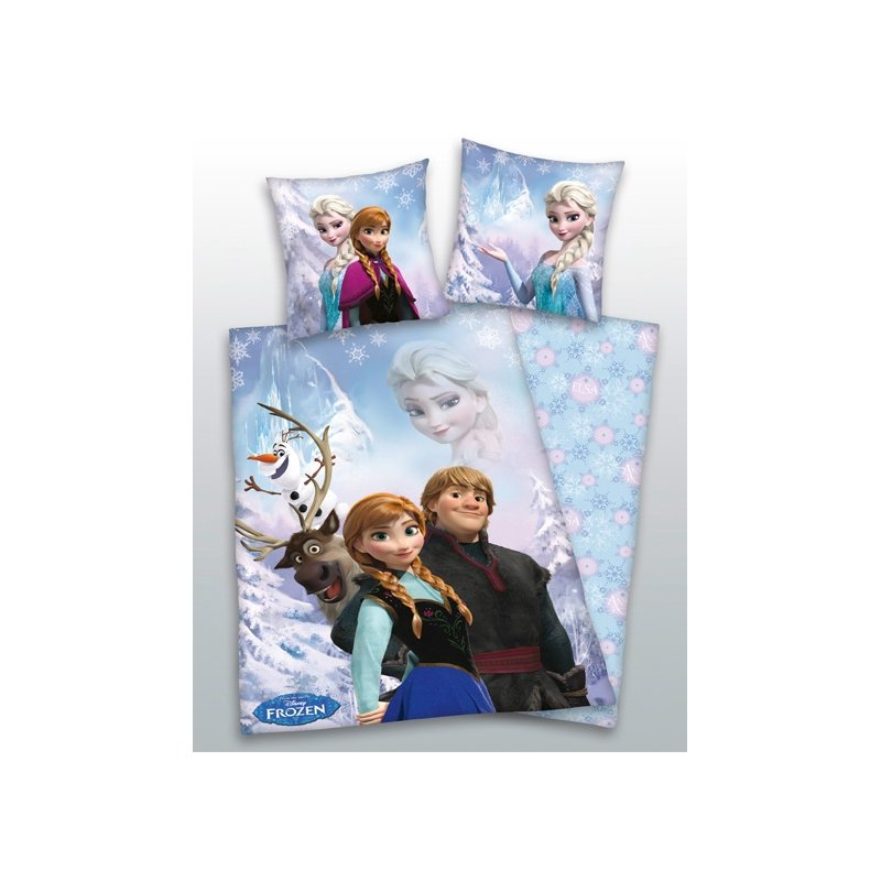 parure de lit reine des neiges frozen disney. Black Bedroom Furniture Sets. Home Design Ideas
