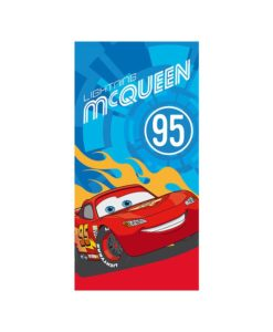 "Serviette de bain Disney Cars ""Buddies to the Finish"""