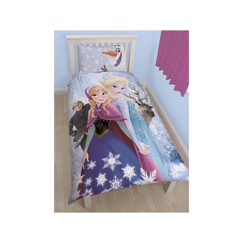 Reine des neiges parure de lit pour enfant for Parure de couette reine des neiges