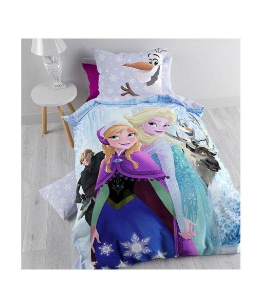 Parure de lit La Reine des Neiges 140x200 cm