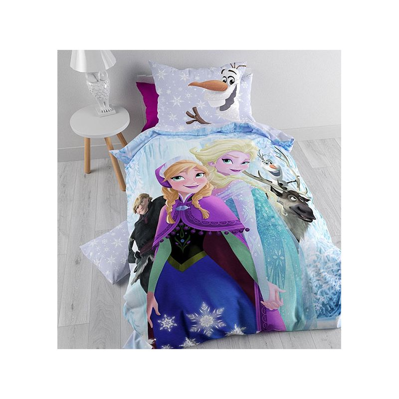 reine des neiges parure de lit pour enfant. Black Bedroom Furniture Sets. Home Design Ideas
