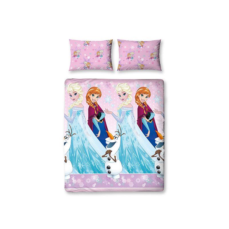 parure de lit double la reine des neiges elsa et anna 200x200