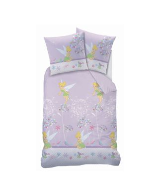 Parure de lit Fée Clochette Floralies