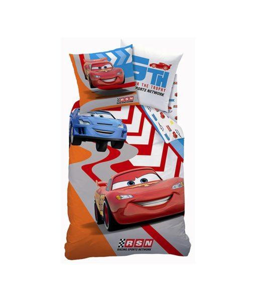 Parure de lit Disney Cars Jump pour une personne