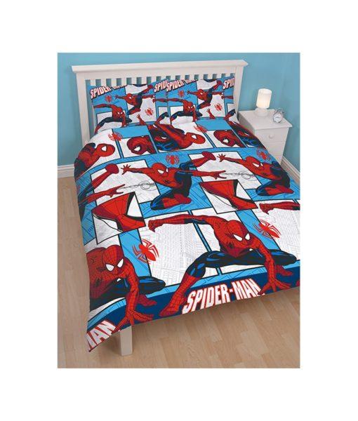 Parure de lit double Spiderman Parker 200x200 cm