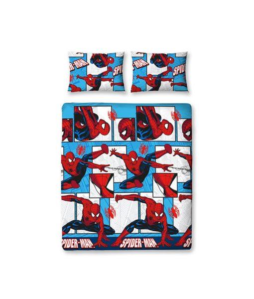 draps de lit double Spiderman Parker 200x200 cm