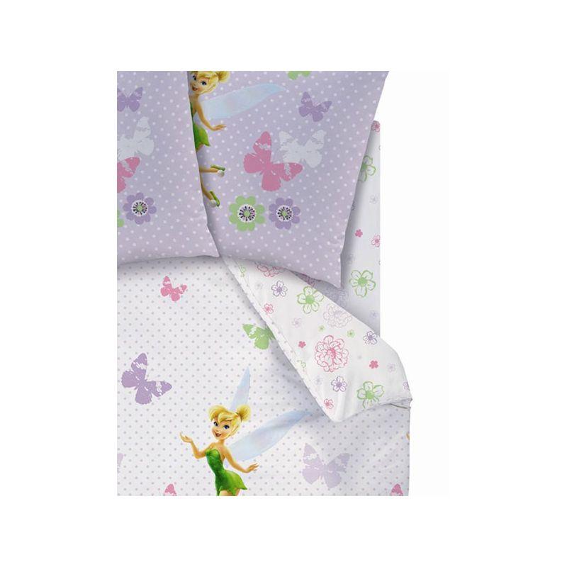 drap housse disney fairies pour matelas 90x190. Black Bedroom Furniture Sets. Home Design Ideas