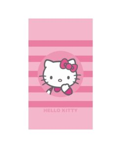 "Serviette de bain Hello Kitty ""Nadia"" 70x120 cm"