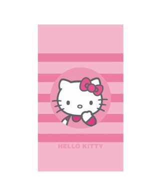 "Serviette de bain Hello Kitty ""Nadia"" 70x120 cm"