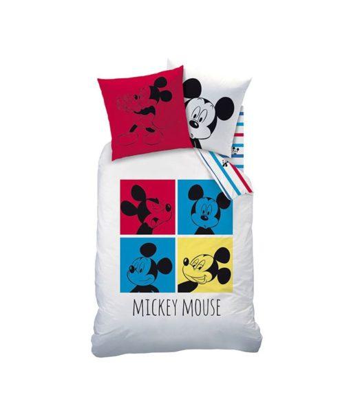 "Parure de lit Mickey Mouse ""Bang Bang"" 140x200 cm"
