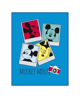 "Couverture polaire Mickey Mouse ""Photomaton"""