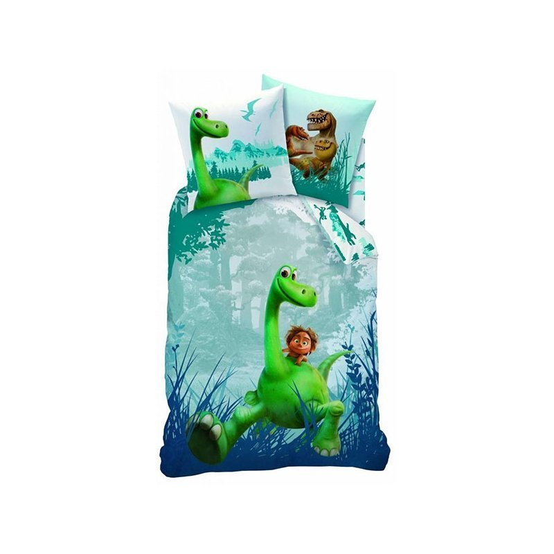 housse de couette the good dinosaur en flanelle. Black Bedroom Furniture Sets. Home Design Ideas