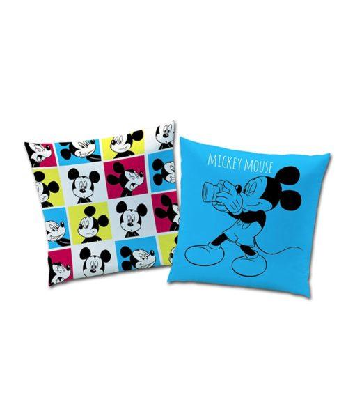 Coussin imprimé Mickey Mouse Photomaton 40x40 cm