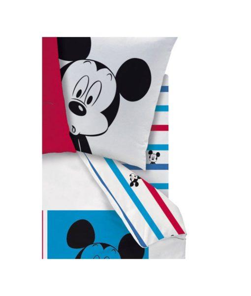 Drap housse Mickey Photomaton pour lit 1 personne