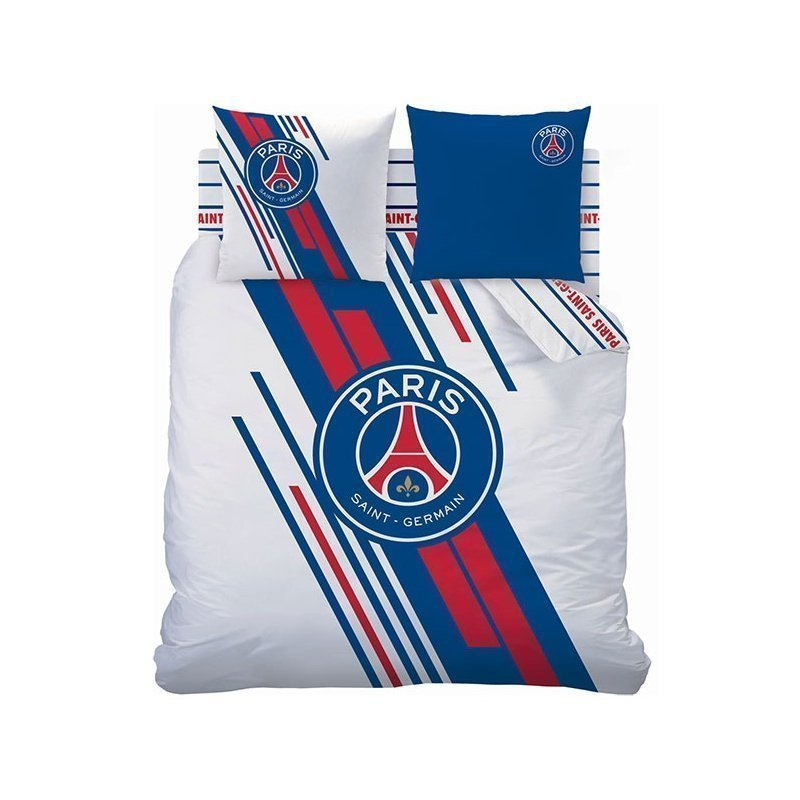 housse de couette psg stadium pour lit 2 personnes 240. Black Bedroom Furniture Sets. Home Design Ideas