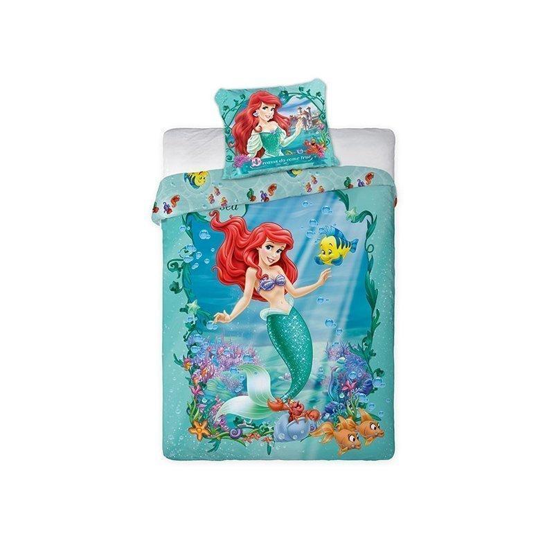 Housse De Couette Ariel La Petite Sirene Pour Enfant
