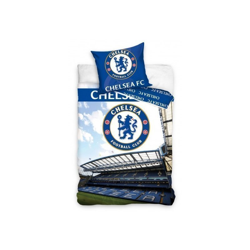 Housse de couette chelsea football stamford bridge for Decoration murale juventus