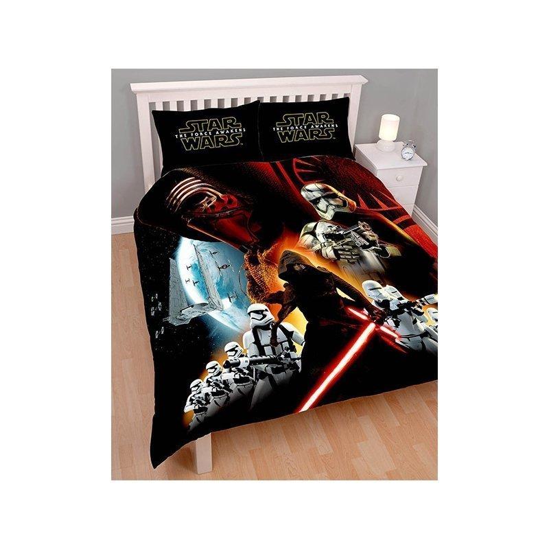 Housse De Couette Double Reveil De La Force Star Wars