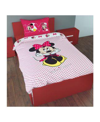 Parure de lit Minnie Sweet 100% coton