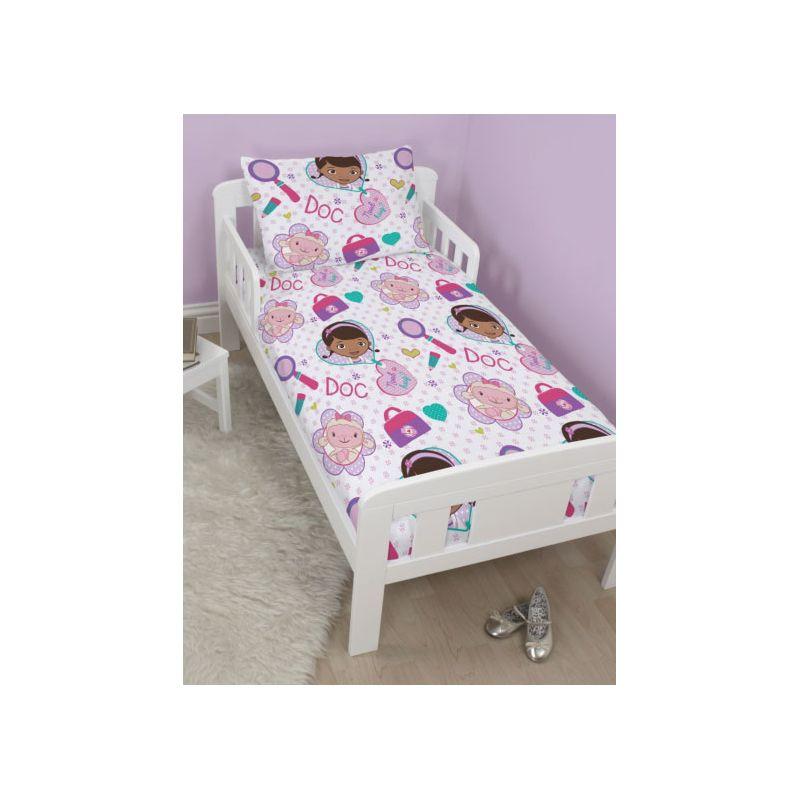housse de couette junior docteur la peluche. Black Bedroom Furniture Sets. Home Design Ideas