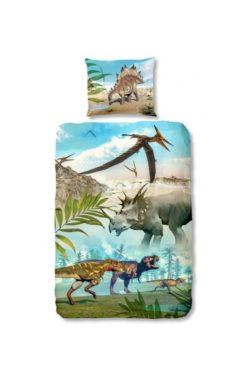 Parure de lit Dinosaure pour enfants - 100% coton