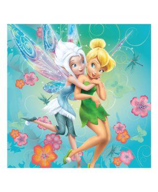 Coussin imprimé Disney Fairies Cristal 40x40 cm