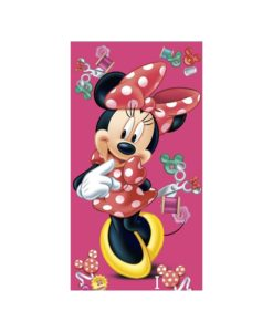 Serviette de bain Minnie Mouse Buttons 75x150 cm