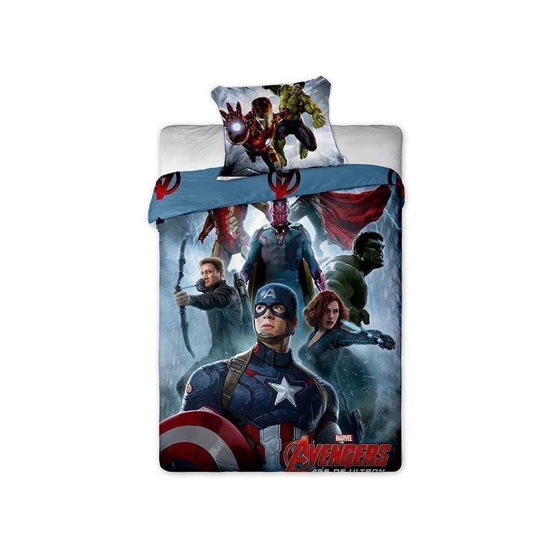 housse couette avengers captain america thor hulk. Black Bedroom Furniture Sets. Home Design Ideas