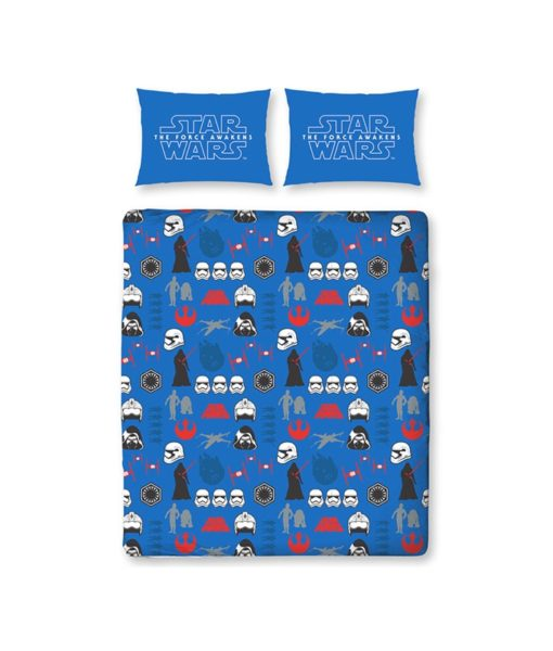 draps de lit double Star Wars Divider - 200x200 cm