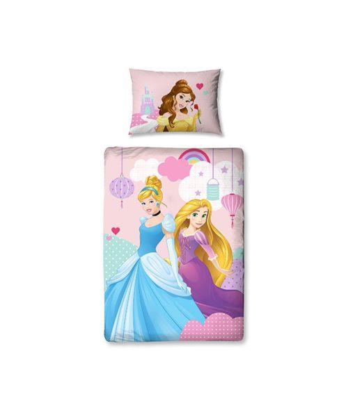 Parure de lit Junior Princesses Disney Enchanting