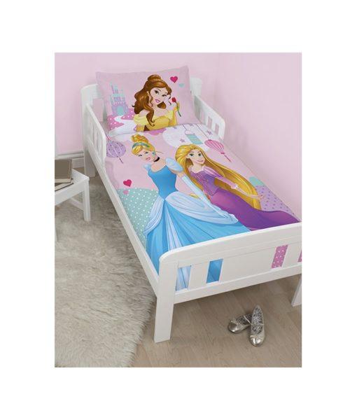 housse de couette Junior Princesses Disney Enchanting