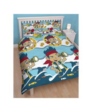 """Parure de lit double Jake et les Pirates """"Sharks"""""""