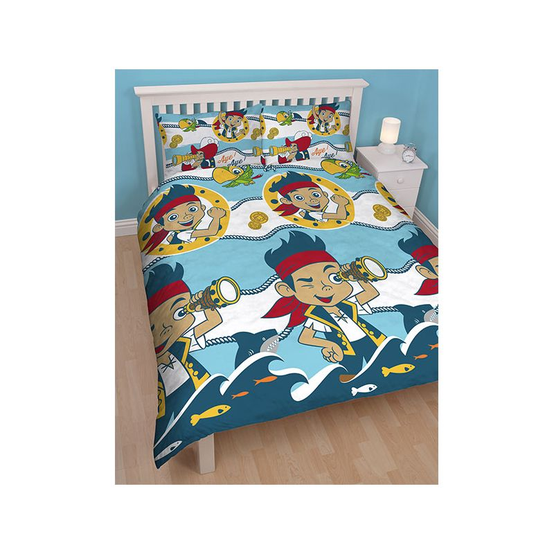 parure de lit double jake et les pirates 200x200. Black Bedroom Furniture Sets. Home Design Ideas