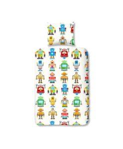 """Housse de couette """"Robots"""" - 100% coton"""