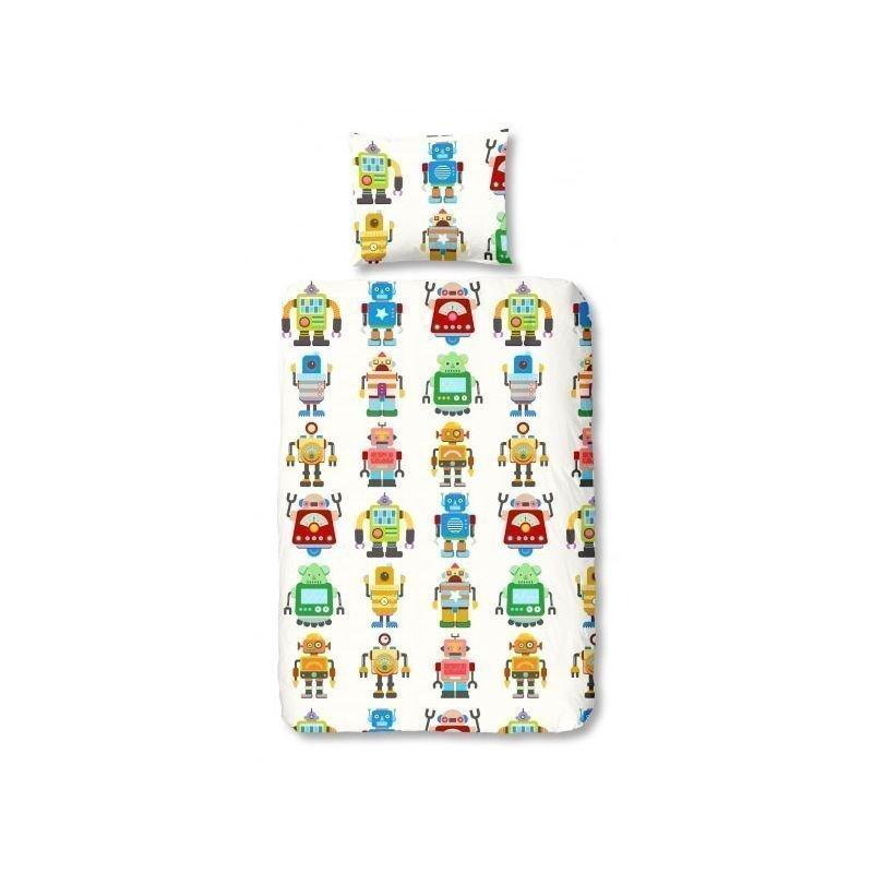 Housse de couette robot pour enfant for Housse de couette junior