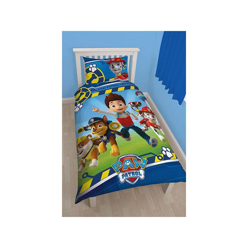 housse de couette pat patrouille r versible pour enfant. Black Bedroom Furniture Sets. Home Design Ideas