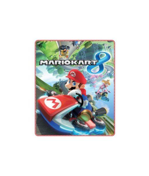 Couverture polaire Mario Kart 8 120x140 cm