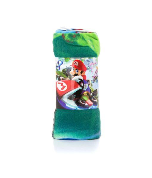 plaid Mario Kart 8 120x140 cm