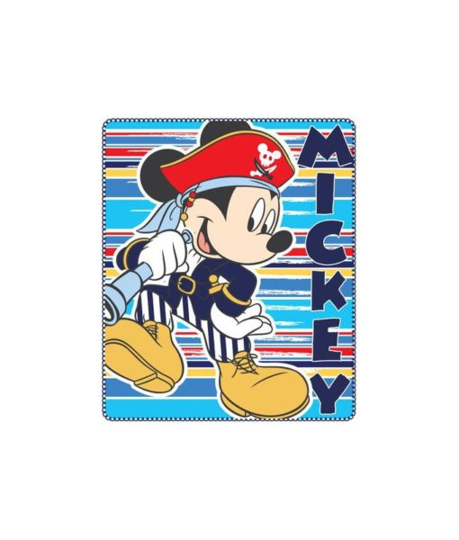 Couverture polaire Mickey Mouse Pirate