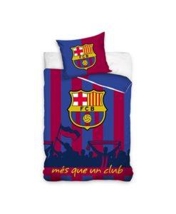 Parure de lit FC Barcelone Mes que un club 140x200 cm