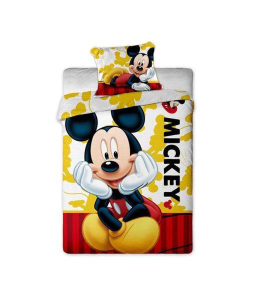 """Parure de lit Mickey """"Colours"""" - Housse de couette + taie"""