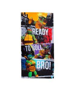 Serviette de bain Tortues Ninja Grunge 70x140 cm