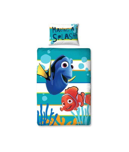 linge de lit réversible Nemo & Dory