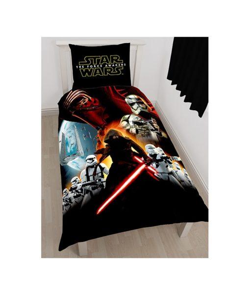 Parure de lit Star Wars Le Réveil de la Force - 140x200 + 63x63 cm