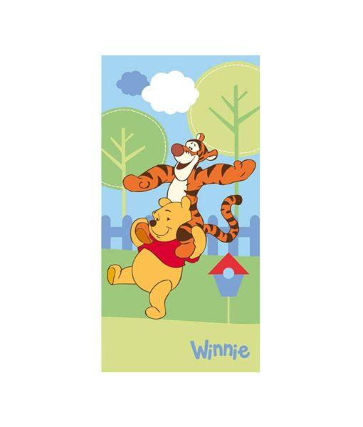Serviette de bain Winnie l'ourson et Tigrou 75x150 cm